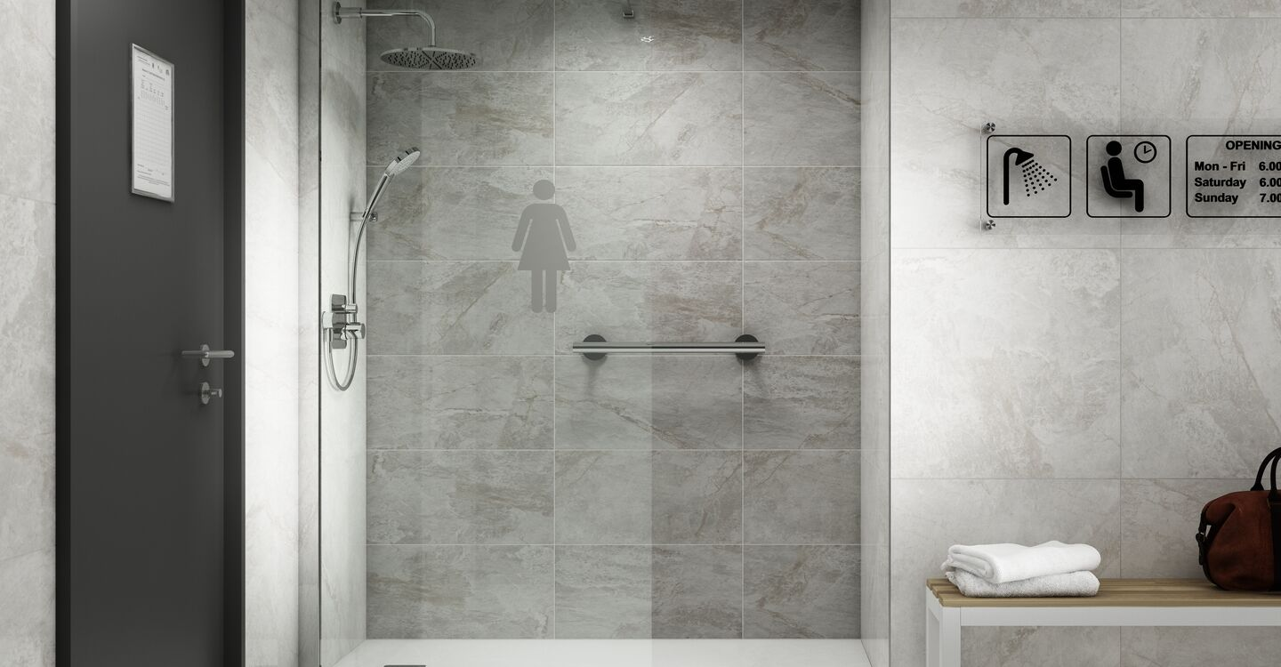 Built-in thermostatic bath & shower mixer