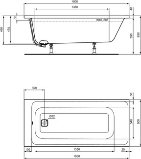IS_TonicII_Multiproduct_PrListDrw_NN_E3974;E3975;bathtub180x80;RECT
